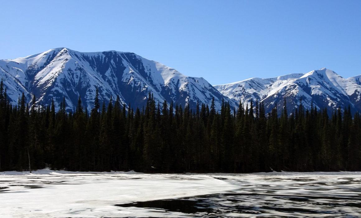 Lac sans nom, 15 km au nord de Meziadin Junction